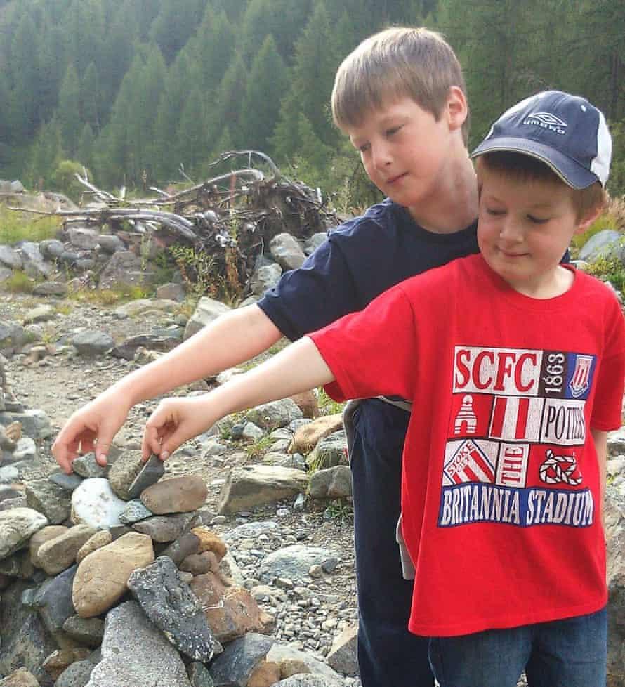Richard Lakin's sons loved their summer activity break.