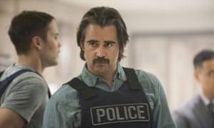 Colin Farrell as Detective Ray Velcoro.