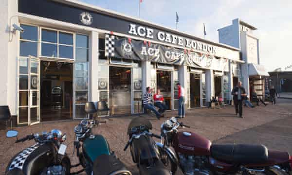 The famous Ace Cafe in north London