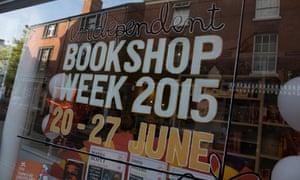 Booka bookshop in Oswestry, Shropshire.