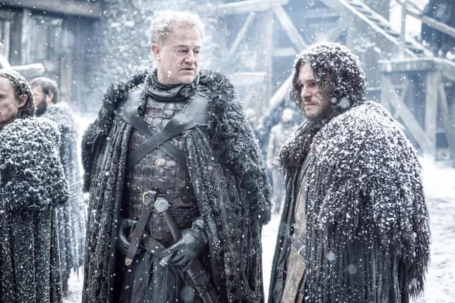 Game of Thrones' Alliser Thorne and Jon Snow have excellent outerwear.