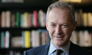 Veteran bookseller James Daunt, the chief executive of Waterstones.