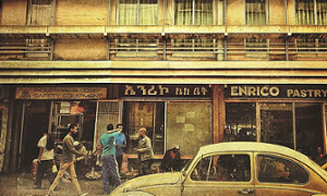One of the oldest pastry shops in Addis