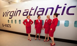 Virgin Atlantic flight crew