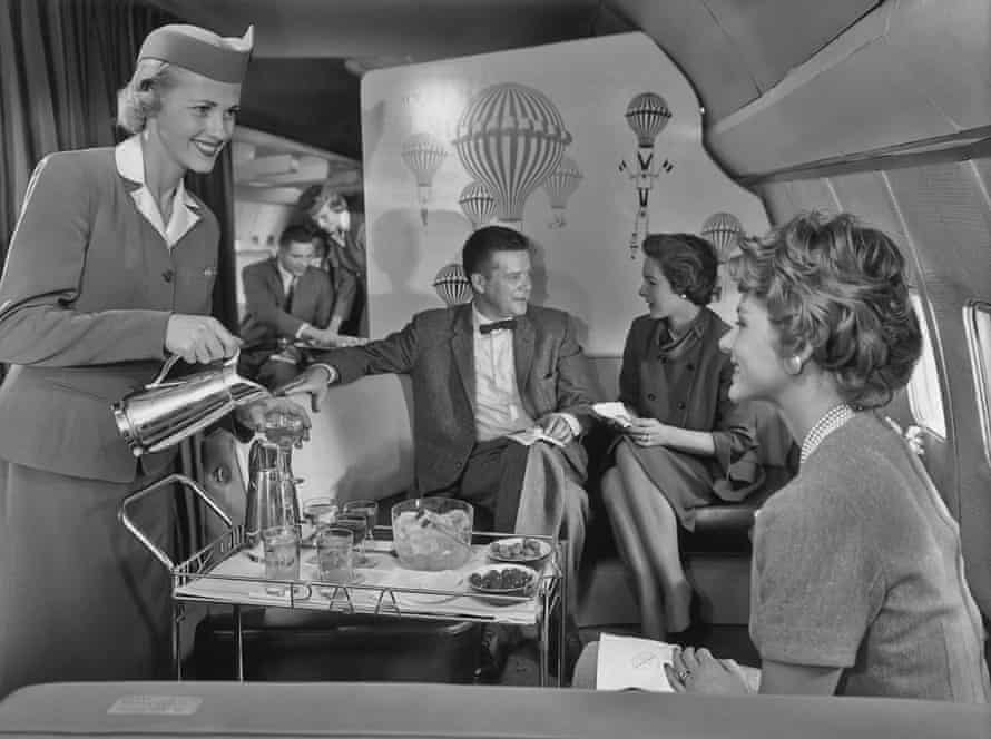 1960s, Pan Am cabin crew