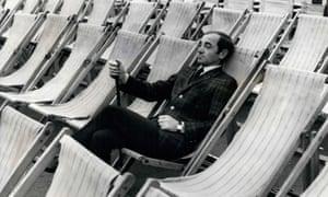 Charles Aznavour in London in 1966.