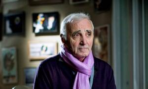 Charles Aznavour.