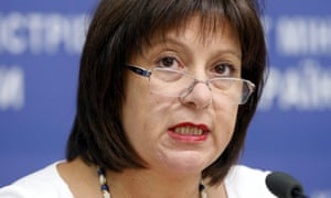 Ukrainian finance minister Natalia Yaresko.