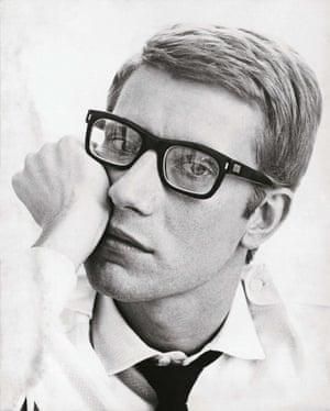 Portrait of Yves Saint Laurent, 1964