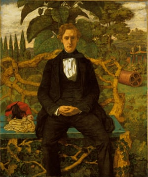 Portrait of a Young Man, 1853 by Richard Dadd, now thought to be a portrait of Dr Charles Hood, the artist's doctor.