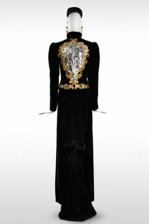 Long evening ensemble. Haute couture collection, Autumn-Winter 1978