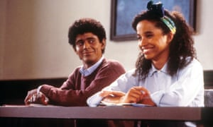 C Thomas Howell and Rae Dawn Chong in Soul Man ... was the film on to something? Photograph: Moviestore/Rex Shutterstock