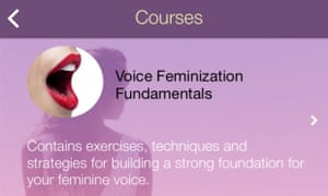 eva voice training app transgender women