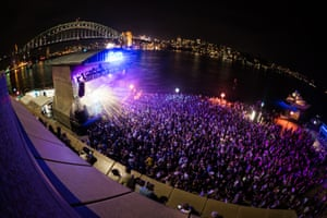 The FCX crowd at Sydney Opera House