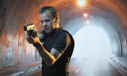 Tunnel vision… Jack Bauer in the days when 24 needed him.