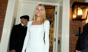Star power … Gwyneth Paltrow arrives at a 2014 fundraiser for President Obama, organised by Vogue editor, Anna Wintour.