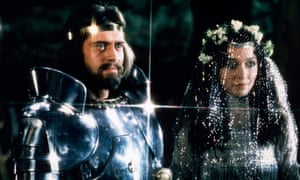 Nigel Terry and Cherie Lunghi as King Arthur and Queen Guenevere