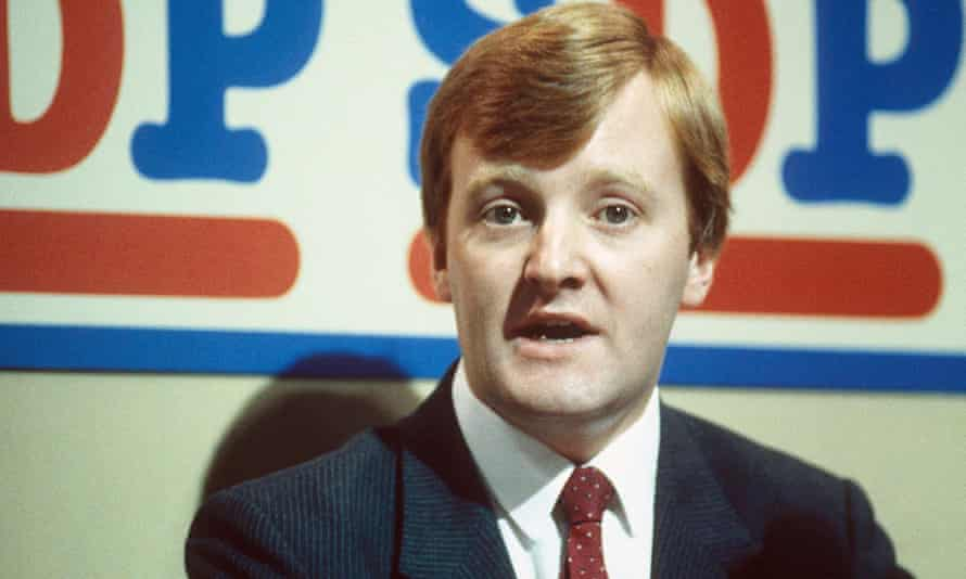 Charles Kennedy at the SDP conference in Portsmouth in 1987.