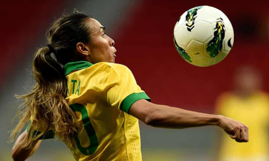 Marta is the joint top-scorer in Women's World Cup history.