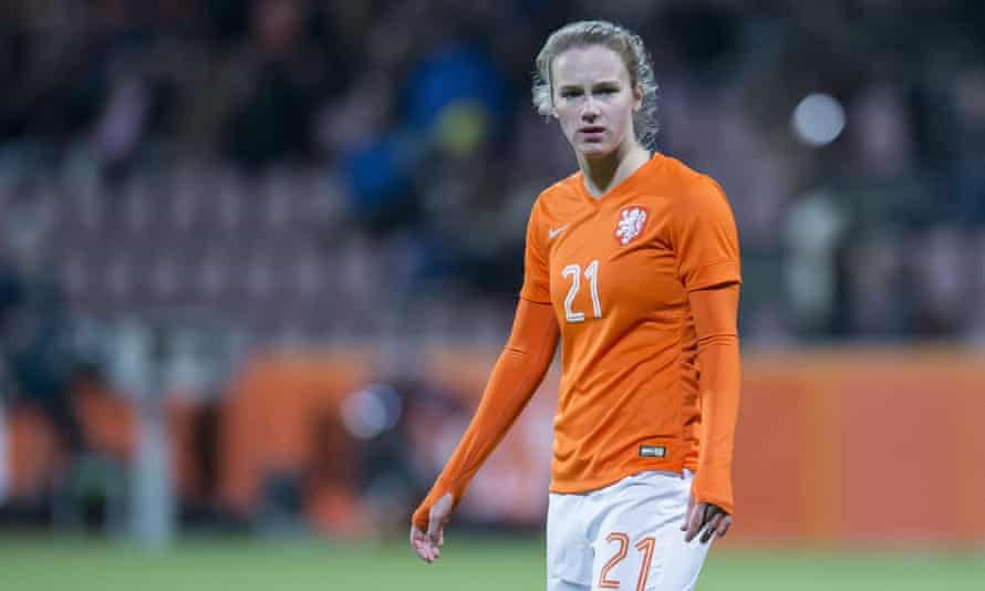 Vivianne Miedema is only 18 but has been described as the most gifted forward in in Europe.