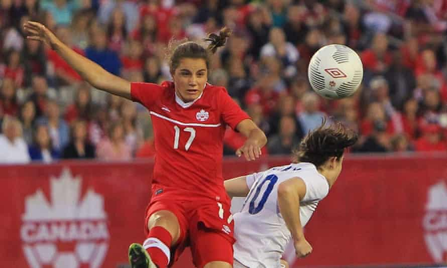 Jessie Fleming made her debut for Canada two years ago at the age of 15.