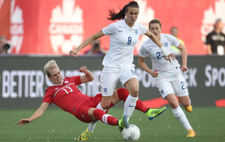 Jill Scott, right, shone for England at the Germany 2011 World Cup.