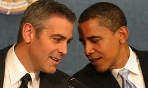 George Clooney and Barack Obama.