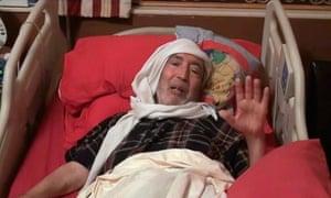 Convicted Lockerbie bomber Abdel al-Megrahi.