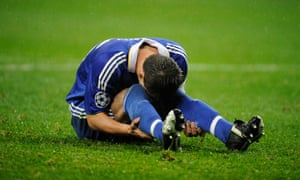 John Terry in 2008: gutted.