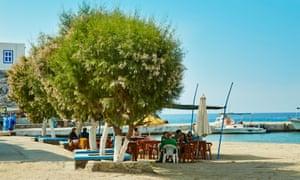 Pserimos village, Dodecanese, Greece