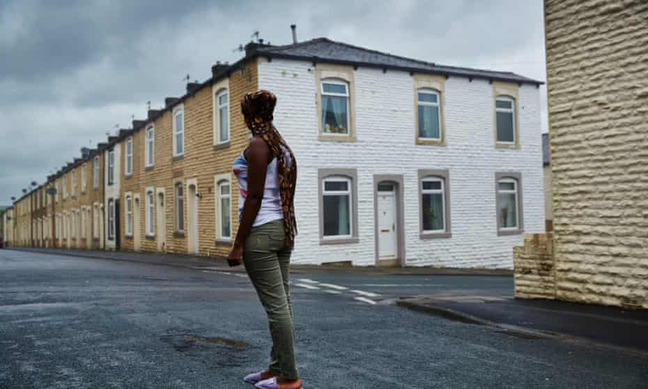 Christiana was moved by the local authority to the town, where she now lives with her two-year-old little girl on £50 a week for food, clothes and travel.