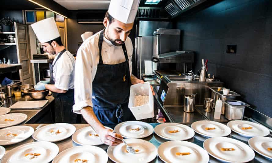 El Celler de Can Roca, in Girona, Spain, which was chosen as No 1 on the 50 Best Restaurants list.