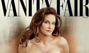 Caitlyn Jenner's cover image for Vanity Fair