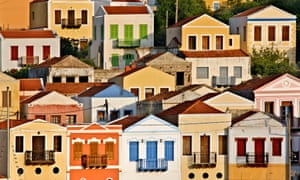 The picturesque village of Kastellorizo, Dodecanese, Greece.