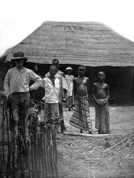 Samuel P Verner in Congo.