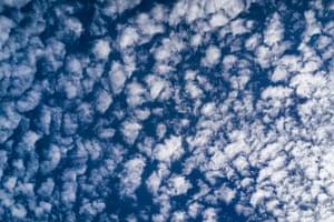 Clouds in the sky, Ile de Ré.