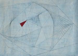 Red in Tension by Barbara Hepworth