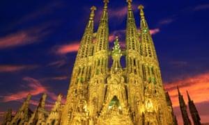 La Sagrada Família, Barcelona.