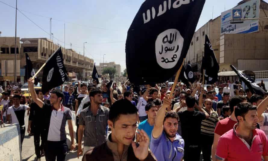 A pro-Islamic State group in Mosul, Iraq