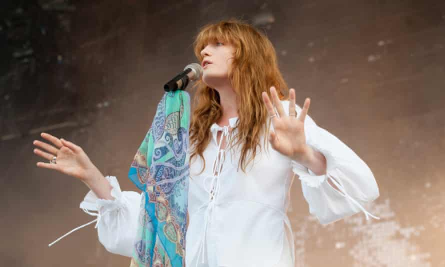 Florence and the Machine have been swiftly elevated to headline status.