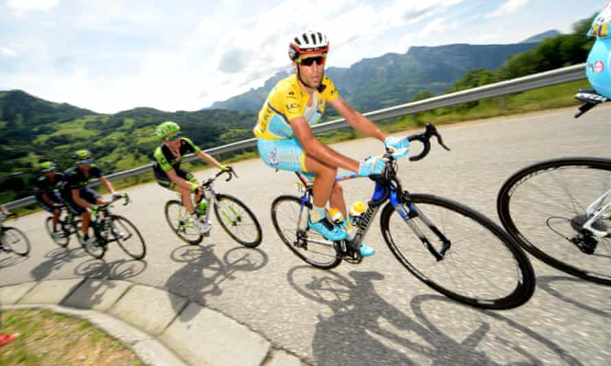 Vincenzo Nibali of team Astana competes during stage seven of the Criterium du Dauphine in June.