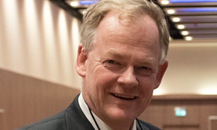 In 2007, as director of education at UCLH, Aidan Halligan commissioned a state-of-the-art education centre, a learning hospital equipped with cameras and simulated theatre and wards. Photograph: Debbie Humphry