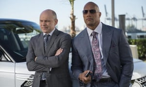 Rob Corddry and Dwayne 'The Rock' Johnson.