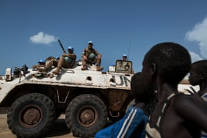 The United Nations peace keeping force has been criticized for not doing enough to protect civilians. Soldiers from the government army, SPLA, have forced their way into the UN base in Bentiu several times, and last year more than 50 people died in a massacre at a UN base in Bor.