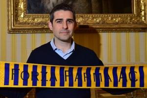 Parma mayor Federico Pizzarotti.