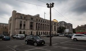 The municipal court in Newark, New Jersey.