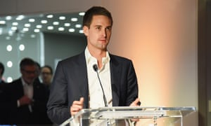 Snapchat co-founder and chief executive Evan Spiegel.