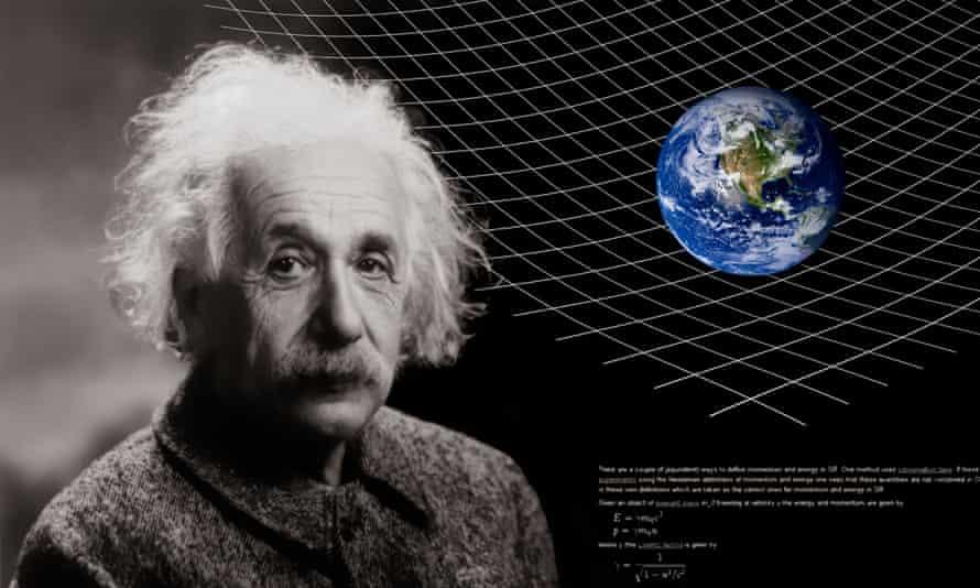 Einstein and curvy space