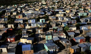 Most of Cape Town's Xhosa population resides in townships such as Khayelitsha.