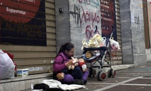 Homelessness in Greece has soared by an estimated 25% since the eurozone economic crisis began in 2009.